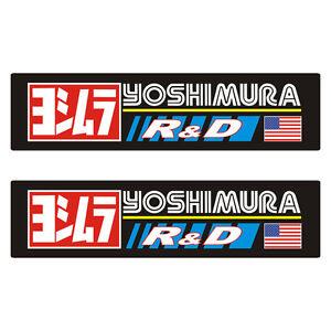 Stickers-plastifies-YOSHIMURA-R-amp-D-16cm-x-4cm