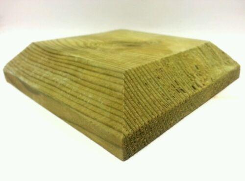 """planchers tops le bois traité Bouchon de poste pour 3 /""""fence posts"""