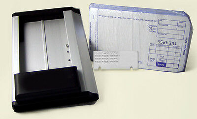 NEW BEST Portable Handheld Manual Credit Card Imprinter Machine 505 STARTER KIT