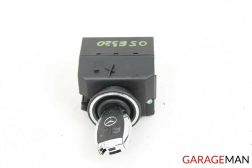 03-08 Mercedes W211 E500 E55 CLS550 Ignition Switch Module w// Key 2115451408 OEM