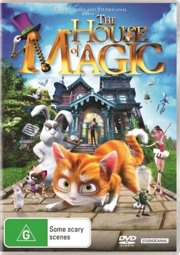 1 of 1 - The House Of Magic (Dvd) Animation Adventure Comedy Children Family Kids Movie