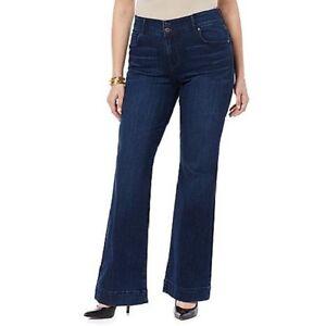 6c6c7df4f23 CJ by Cookie Johnson Women s Believe Foundation Flare Jeans Phyllis ...