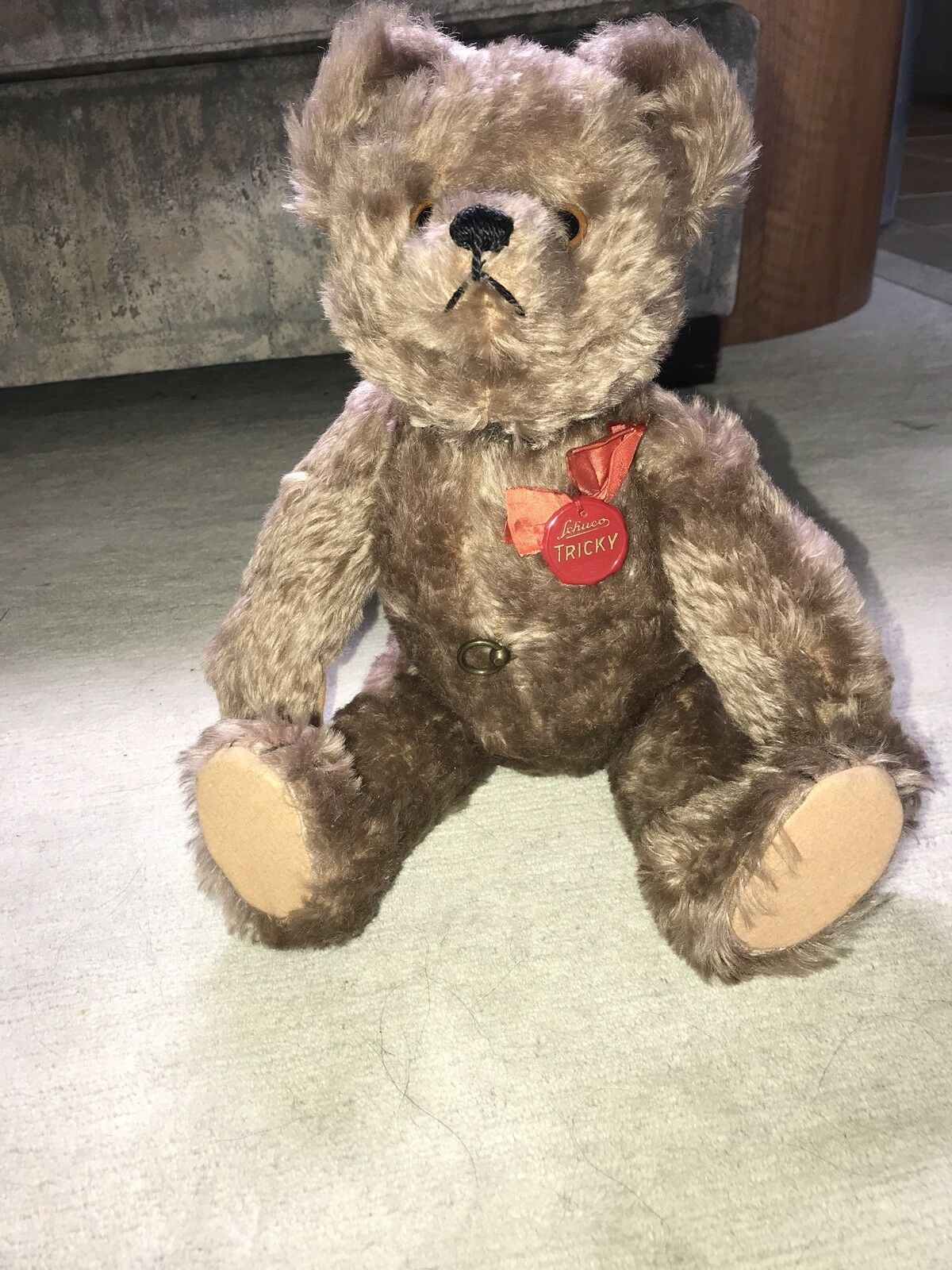 1950s Schuco Yes No Teddy Bear