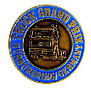 auto pin pins mercedes benz truck grand prix n rburgring gold ebay. Black Bedroom Furniture Sets. Home Design Ideas