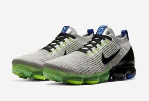 Nike-Air-VaporMax-Flyknit-3-GS-Shoes-Vast-Grey-BQ5238-003-Size-5Y-Women-039-s-6-5