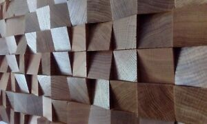 4x-New-Quality-OAK-WOOD-multicolour-diffuser-acoustic-wall-decoration-panel-home