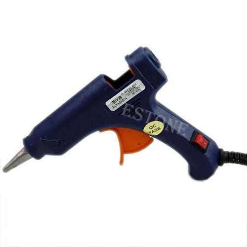 Profesional útil Mini Eléctrica Calefacción Pistola de pegamento caliente derretir 20W-vendedor de Reino Unido
