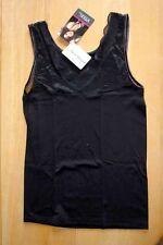 Hemd Achselshirt mit Spitze und Mikromodal Farbel SW Marke Speidel Gr 40 neu