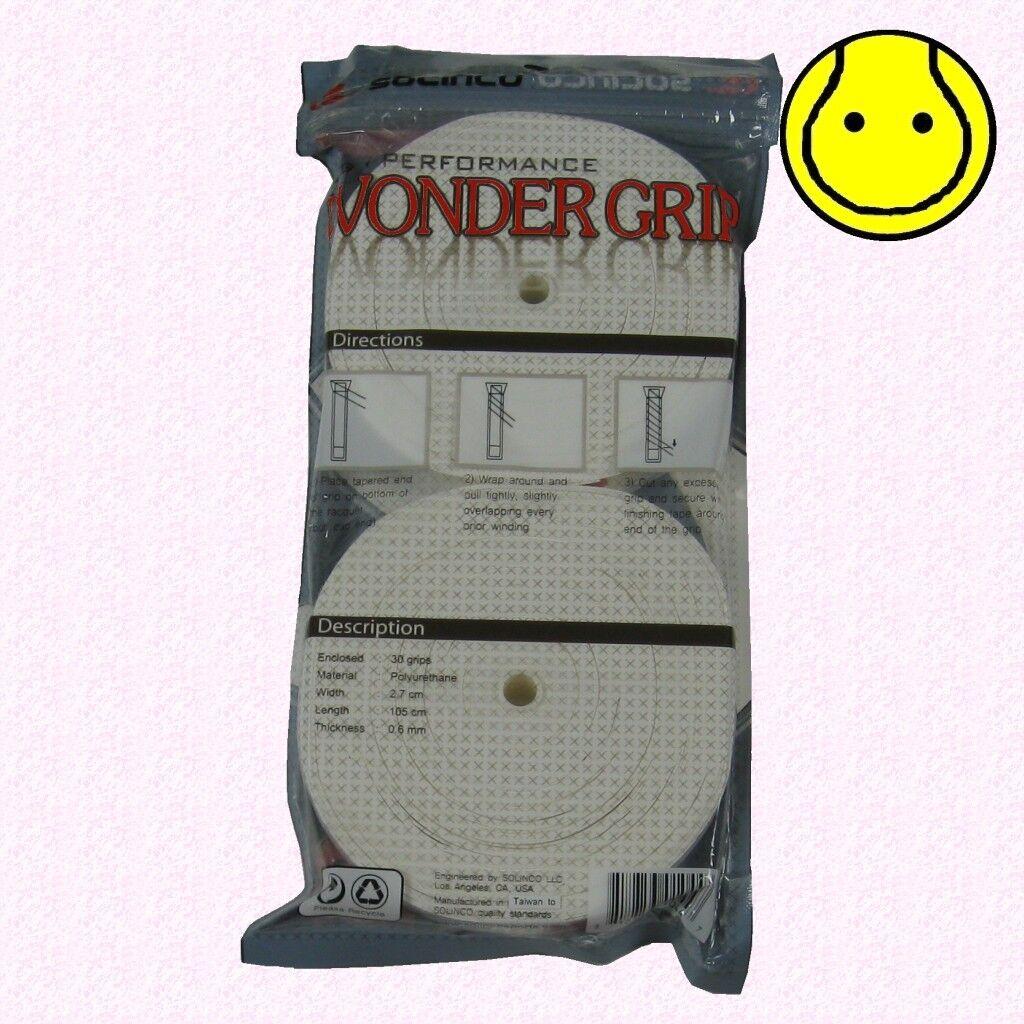 Solinco Wonder Grip 30er weiß Griffbänder