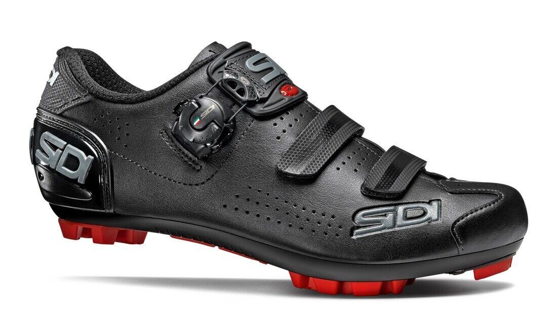 Schuhe Sidi MTB Trace 2 Größe 39 Farbe Schwarz Schwarz