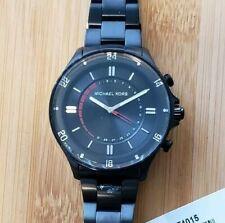 Michael Kors MKT4015 Access Black Hybrid Smartwatch Stainless Steel 45mm