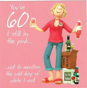 60th birthday card from the one lump or two collection age 60 wine image is loading 60th birthday card from the one lump or bookmarktalkfo Choice Image