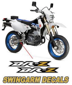 Gold Swingarm Decals Sticker graphics Fits Suzuki Drz 400 drz400e DRZ400 Drz400s