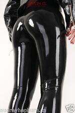 100% Latex Rubber Gummi Black Cool Unique Handsome Pants Size XS-XXL