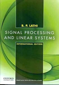 Signal Processing and Linear Systems: International Edition by Lathi (English) P