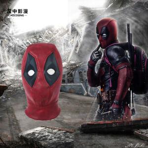 HZYM-Deadpool-2-Wade-Cosplay-Helmet-Halloween-Full-Face-Suede-Mask-Hat-Hood