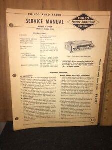 Philco-Radio-Service-Manual-C-5909-Mopar-model-929