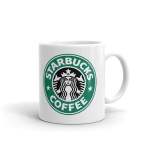 Starbucks Coffee Green Mermaid Logo Coffee Tea Ceramic Mug Office Work Cup Gift