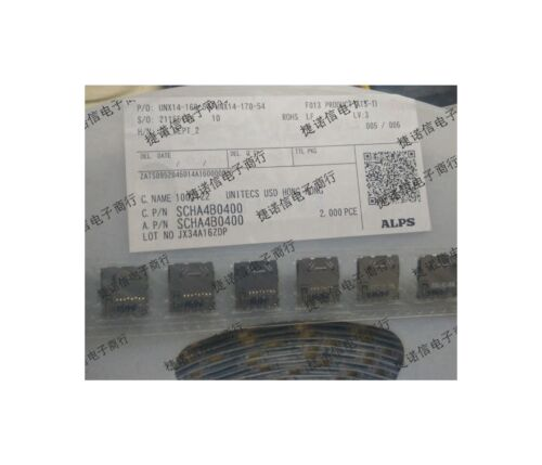 10PCS X SCHA4B0400 ALPS Slim SD deck