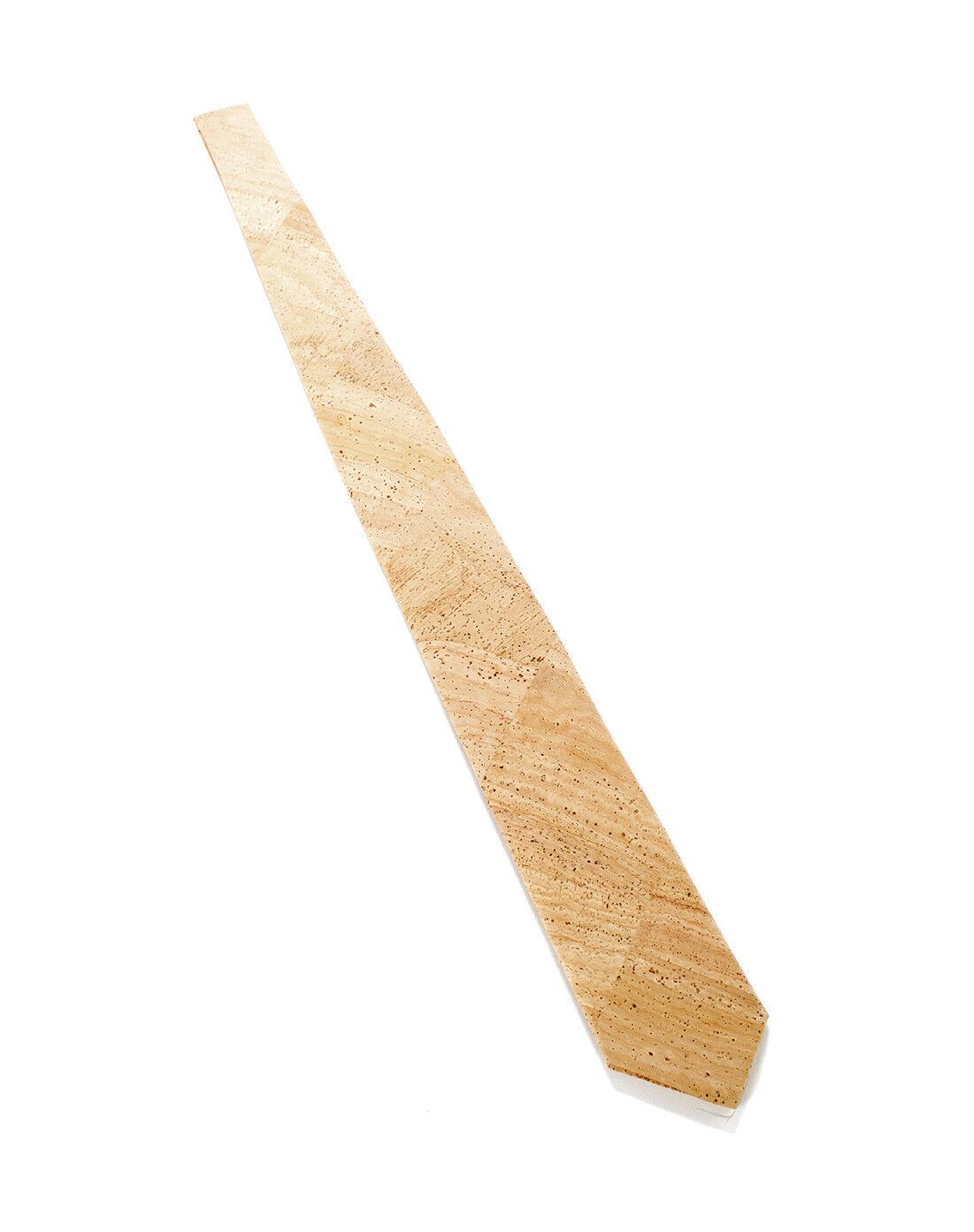 Kork-Krawatte für Herren   Hergestellt in Portugal, nicht Asien   Krawatte Kork
