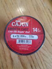 1 Spool Cajun Line Red Lightnin 17lb Fishing Line 700 Yards for sale online