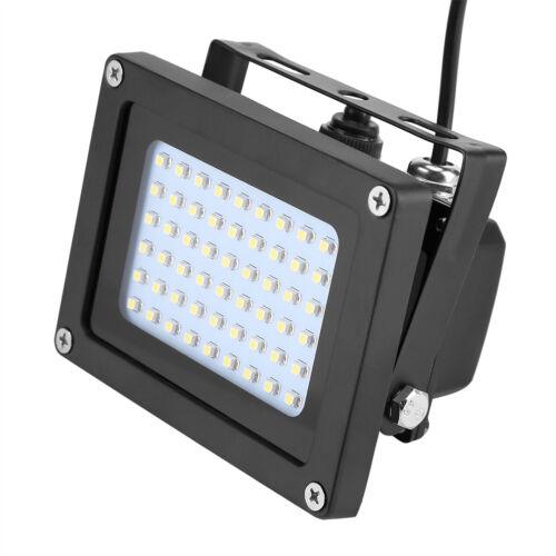 Solar Power Waterproof 54LED Flood Light Sensor Garden Outdoor Security Lamp NEW