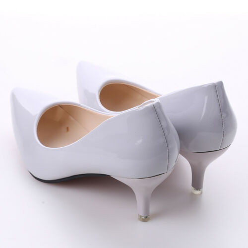 Women High Heels Pointed Toe Slip on Nightclub Shallow Pumps Shoes LG