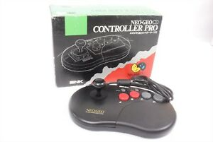 NEO-GEO-Controller-Pro-Boxed-Tested-JAPAN-Game-Ref-0408