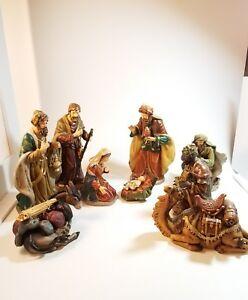info for 40395 4b2a1 Details about Vintage SPECIAL TIMES Porcelain Large Nativity Set 10 Piece