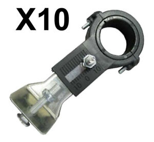 LOT-of-10-Universal-Single-LNB-Bracket-FTA-Sat-Dish-LNB-Holder-30-amp-40mm-Mount