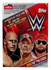 2016 Topps WWE Wrestling Blaster Box 10 packs plus 1 relic card 70 cards New