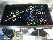Gucci Gold plated womans watch w/6 diamond cut metal bezels+ 25 more bezels set