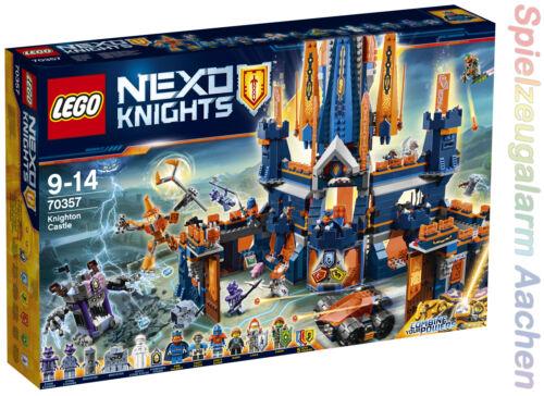 LEGO 70357 Nexo Knights Schloss Knighton König Halbert Bot Robin Aaron N6//17