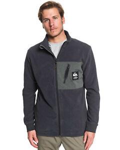 QUIKSILVER™ Mens Waterman Portview Zip Up Fleece Jumper Sweatshirt