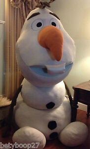Disney Frozen Huge 6 Ft Stuffed Plush Anna Elsa Friend My Size Giant