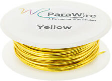 Copper Wire Silver Plated Parawire 20ga Outrageous Orange 40/' Roll