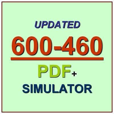 Cisco Unified Contact Center Enterprise 600-460 Test UCCES Exam QA PDF+Simulator