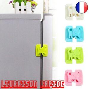 Securite-Serrure-Refrigerateur-Porte-Bebe-Protection-Enfant-Bloqueur-Cadenas-Top