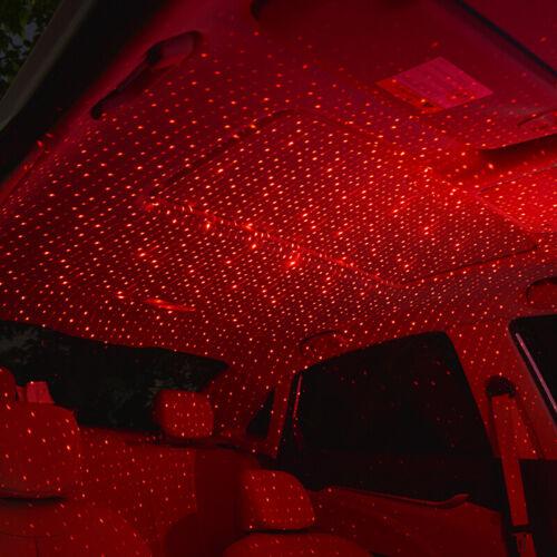 USB Car Interior Roof Atmosphere Starry Sky Lamp Star Light LED Projector Light