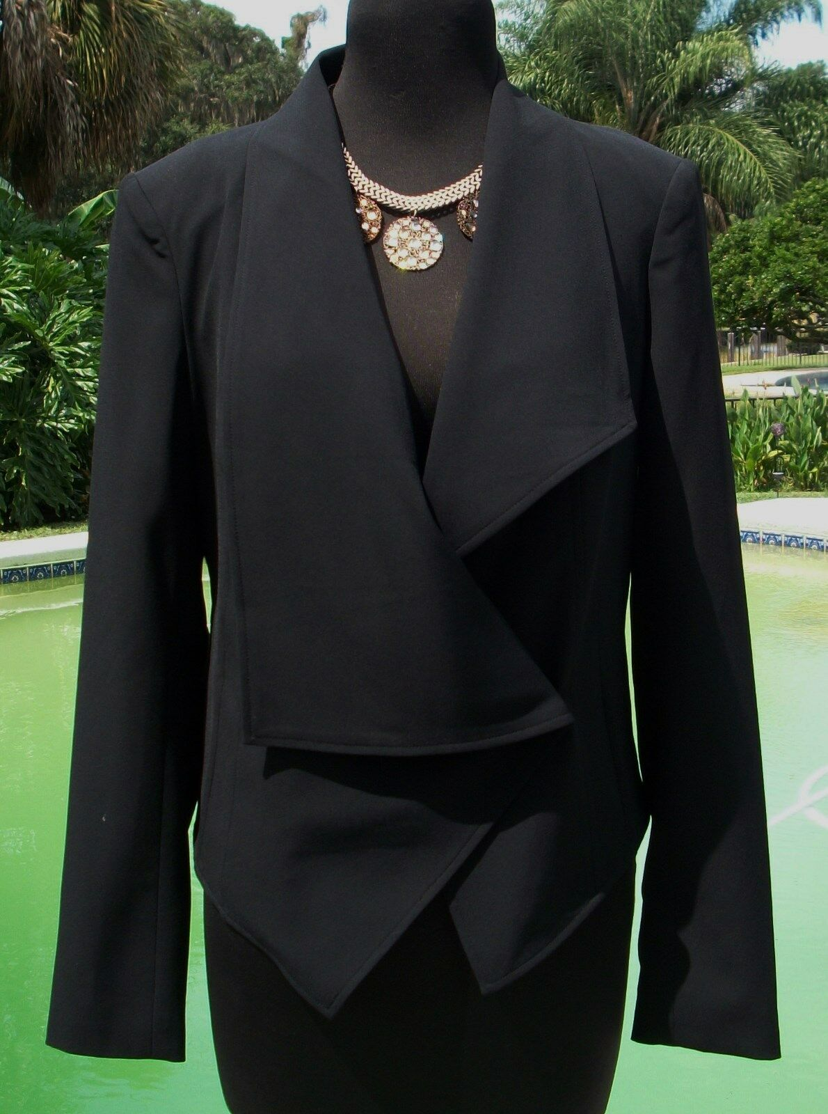 Cache Top Jacket Shrug New Sz 6 8 10 S M Lined Wear All Year Tux Style  NWT