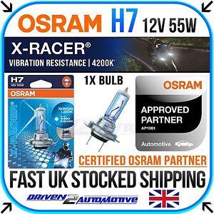 1X osram H7 X-racer 4200K Ampoule Pour BMW R1200 RT K26 01.05-12.09