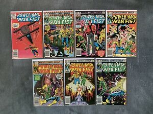 Marvel-Power-Man-and-Iron-Fist-88-97-99-123-125-Bronze-Age-14-comics-lot