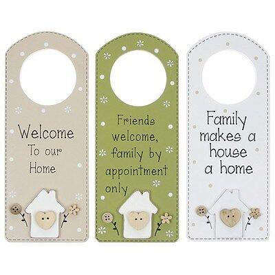 Petite Maison Hang Heart Mini Plaque.3 Different Designs