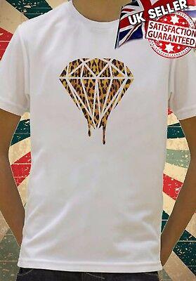 Leopard Dripping Diamond Swag Funny Kids Boys Girls Unisex  Top Gift T-Shirt 532