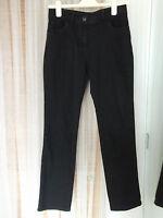 Marks & Spencer Size 8 Medium Ladies Black Straight Leg Jeans
