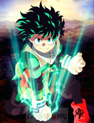 Poster A3 Boku No Hero Academi Izuku Midoriya Deku Manga Anime Cartel 04