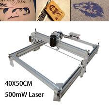 Mini Laser Cnc Router 500mw Diy Desktop Engraver Pcb Wood Mill Machine 40x50cm