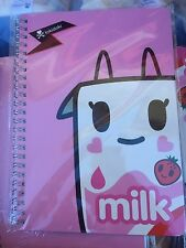 Tokidoki Strawberry Milk Wired Notebook