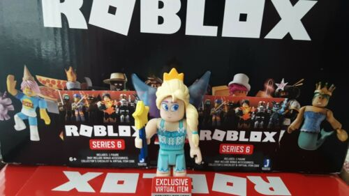Roblox Series 6~Fairy World Neutral Fairy W// Unused Virtual Code