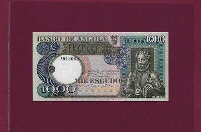 1973 Escudos UNC 1000 1,000 Angola P-108